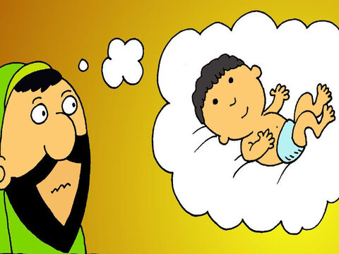 Nicodemus didn't understand. 'How can I become a baby again and be born? I am too old,' he said. – Slide 5