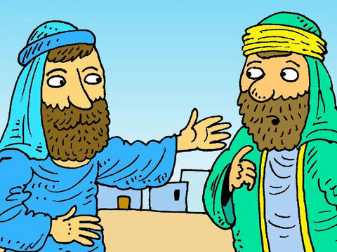 'Go back home, your son is well again. I don't need to come to your house. Just believe what I say.' It was 1 o'clock when Jesus said that. – Slide 4