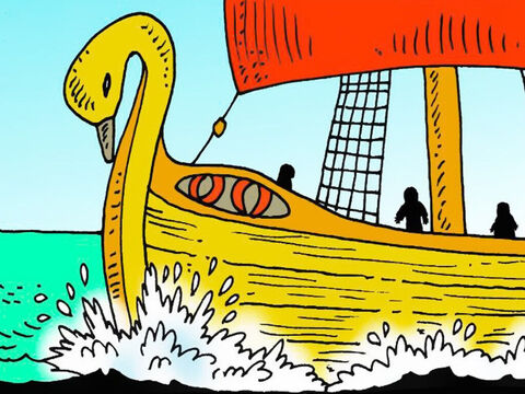 Paul the apostle was sent by ship, under the guard of Julius, a kind centurion, to be tried in the Court at Rome. Paul warned the sailors that a storm was coming. – Slide 1