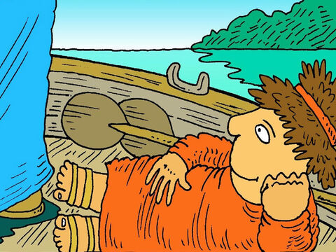 Then Jesus said to Peter, 'Put your net out on the other side.' Peter replied, 'We fished all night and caught nothing, but I will do what you say.' – Slide 6