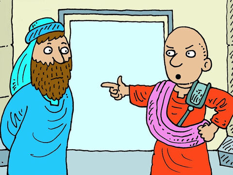 Caiaphas, the High Priest, sent Jesus to be judged by Pontius Pilate, who was the Roman Governor in the province of Judea. – Slide 2