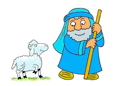 David was a shepherd who cared for his sheep and protected them. He wrote this song about the Lord being his shepherd who looked after him. – Slide 1