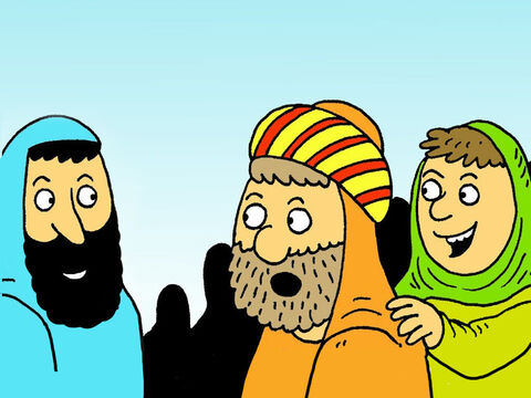 Then Thomas knew that Jesus had risen from the dead and he believed because he had seen Jesus himself. – Slide 6