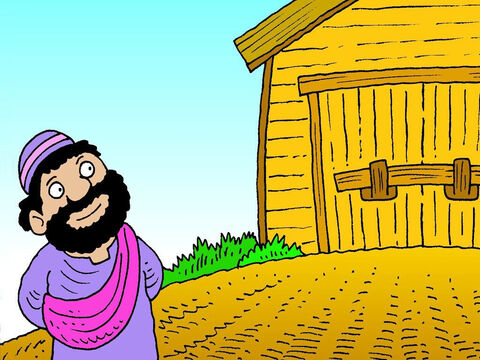 In this story the farmer is God. He allows good and evil in this world until the time is right to destroy all evil and save what is good. Choose to do what is good and right. – Slide 8
