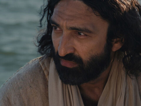 Jesus spoke to those in the boat, 'Why are you afraid? Do you still have no faith?' – Slide 11