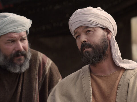 Then Thomas said to the rest of the disciples, 'Let's go with Jesus that we may die with Him.' – Slide 9