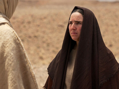 Yes, Lord,' she replied, 'I believe that you are the Messiah, the Son of God, who is to come into the world.' She then returned to fetch her sister Mary saying, 'The Teacher is here,' and is asking for you.' – Slide 7