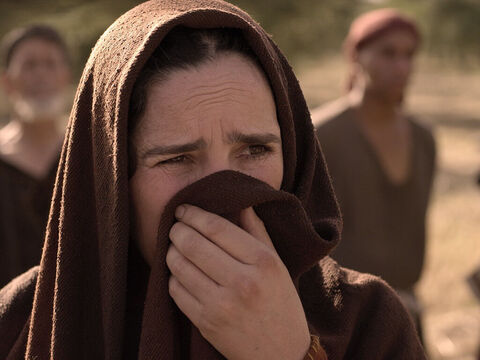 'But, Lord,' Martha protested, 'Lazarus has been in the tomb for four days and there will be a bad odour.' – Slide 13