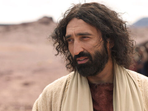 Jesus replied, 'Did I not tell you that if you believe, you will see the glory of God?' – Slide 14