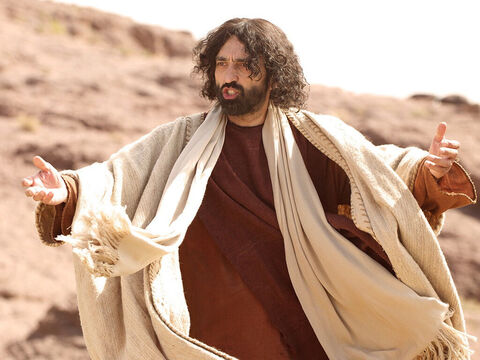Then Jesus looked up and prayed, 'Father, I thank you that you have heard me. I say this for the benefit of the people here so they may believe that you sent me.' Then Jesus called in a loud voice, 'Lazarus, come out!' – Slide 16