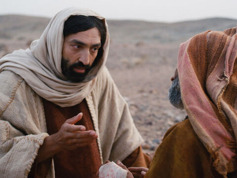 Jesus told him not to tell anyone what had happened but go and be examined by a Jewish priest. 'Offer the sacrifice Moses' law requires for lepers who are healed,' he said. 'This will prove to everyone that you are well.' – Slide 10