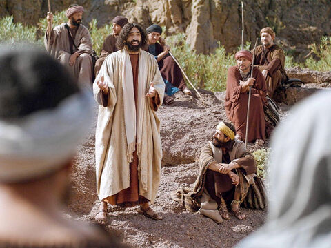 Then Jesus said to the disciples, 'If anyone wants to be a follower of mine, let him deny himself and take up his cross and follow Me. For anyone who keeps his life for himself shall lose it; and anyone who loses his life for me shall find it again. – Slide 14