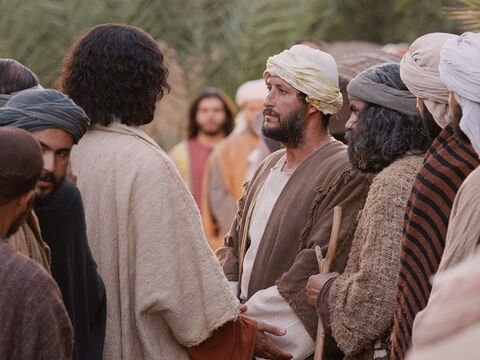 A rich young man came up to Jesus and asked, 'Teacher, what good thing must I do to get eternal life?' – Slide 1