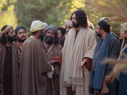 'Why do you ask me about what is good?' Jesus replied. 'Only God alone is truly good. If you want eternal life, keep the commandments.' – Slide 2