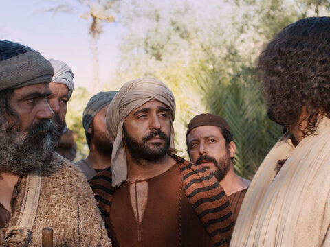 This remark confounded the disciples. 'Then who in the world can be saved?' they asked. 'Humanly speaking, no one, Jesus replied,  'But with God, everything is possible.' – Slide 8