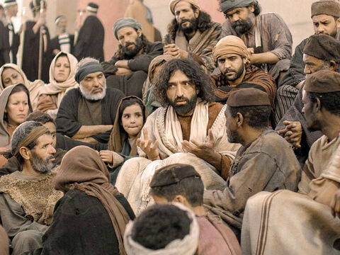 To the Jews who had believed Him, Jesus said, 'If you hold to my teaching, you are really my disciples. Then you will know the truth, and the truth will set you free.' – Slide 1