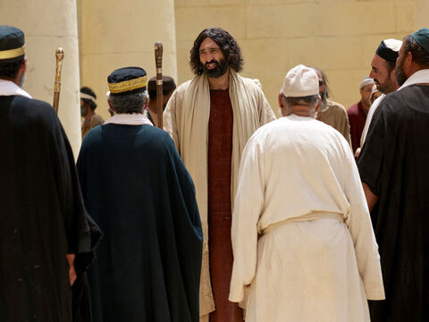 Jesus said to them, 'If God were your Father, you would love me, for I have come here from God. I have not come on my own; God sent me. Why is my language not clear to you? Because you are unable to hear what I say. You belong to your father, the devil, and you want to carry out your father's desires. – Slide 7