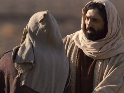 Then Jesus told the Samaritan, 'Get up and go. Your faith has made you well.' – Slide 11