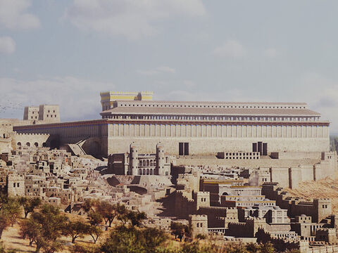 She continued, 'Samaritans worship God on this mountain, but you Jews say that Jerusalem is the place where we should worship God.' – Slide 13