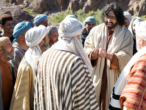 The Samaritans came out to meet Jesus and begged Him to stay with them. Jesus stayed there two days and many believed that Jesus was the Messiah. – Slide 17