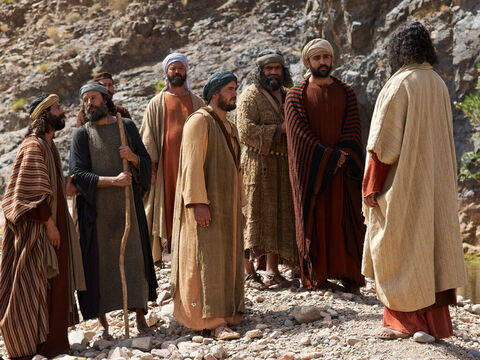 'How could you not understand that I was not speaking to you about bread? But beware of the yeast of the Pharisees and Sadducees!' – Slide 8