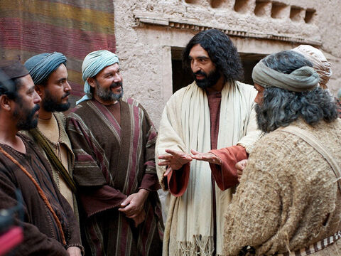 Jesus explained, 'Today salvation has come to the house of a Jewish tax collector. I came to seek and to save the lost.' – Slide 13