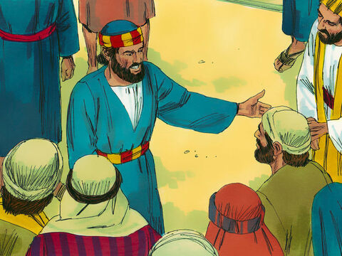 'I know you did not understand what the prophets foretold that the Messiah must suffer. Repent then and turn to God,' Peter urged them, 'So that your sins may be wiped out and times of refreshing can come from the Lord.' – Slide 9