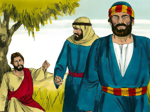 When the day of the Passover celebration arrived, Jesus sent Peter and John to find a place to prepare their Passover meal. 'As soon as you enter Jerusalem, you will see a man carrying a pitcher of water, He told them. 'Follow him into the house he enters. The master of the house will show you to an upper room. Prepare the meal for us there.' – Slide 1