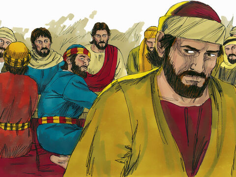 Jesus then told Judas, 'What you are about to do, do quickly. Judas got up and left the room. The others thought Jesus had told Judas to give something to the poor. – Slide 12