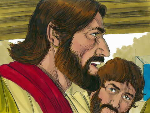 Jesus explained He was going to prepare a place for them in heaven. – Slide 16