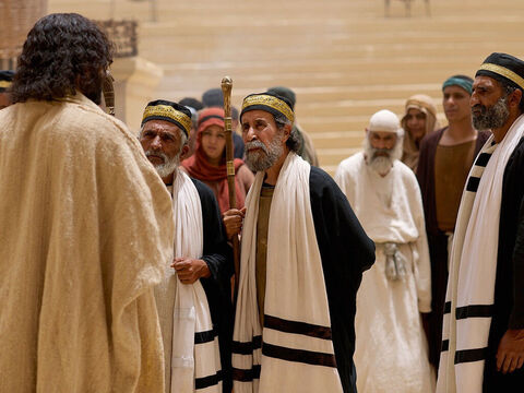 Tax collectors and sinners were all gathering round to hear Jesus.But the Pharisees and the teachers of the law muttered, 'This man welcomes sinners, and eats with them.' – Slide 1