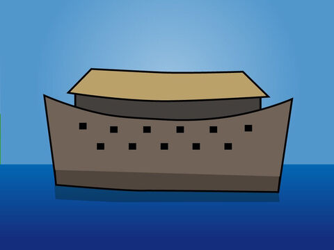 Genesis 7. <br/>God sends a great flood and only those on board the Ark survive. – Slide 7