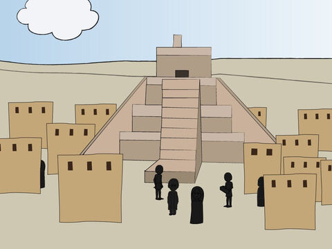 Genesis 11: <br/>People build the tower of Babel but God confuses their language.  There is also a list of the generations from Shem to Abram. – Slide 2