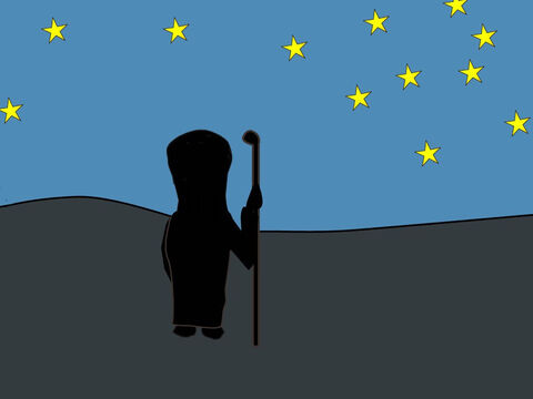 Genesis 15: <br/>God promises Abram he will be the father of a great nation whose numbers, like the stars, will be too many to count. God makes a covenant with Abram that his descendants will live in the land He promised them. – Slide 6