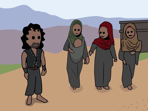 Genesis 36. <br/>Esau's family and his descendants. – Slide 13