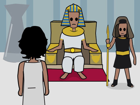 Genesis 41. <br/>God explains Pharaoh's dreams to Jacob and he is promoted to be second-in-charge of Egypt. – Slide 6
