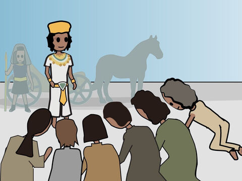Genesis 46. <br/>Jacob travels to Egypt to be reunited with Joseph. – Slide 11