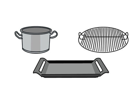 The cakes or wafers could be baked, grilled or fried. – Slide 4