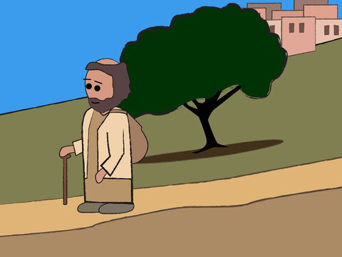 When Zecharias's service in the temple was over, he went home. – Slide 13