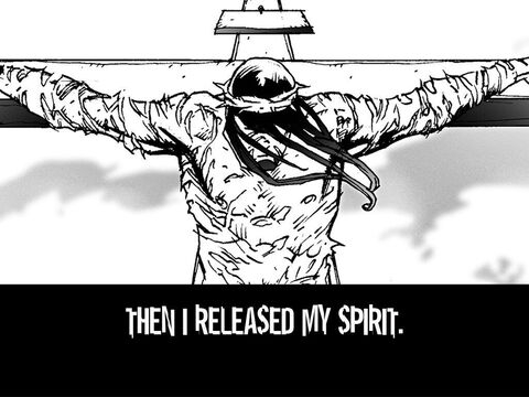 Then I release my Spirit. – Slide 21