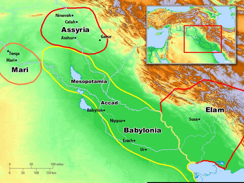 Cities of Assyria and Babylonia. – Slide 5