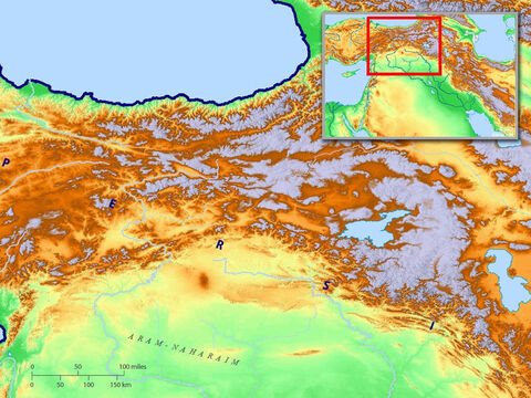 Region between the Black Sea and rivers Euphrates and Tigris. – Slide 8