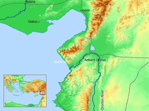Map of Antioch and Seleucia in Syria. – Slide 5