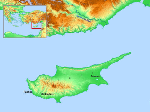 Map of Cyprus. – Slide 6