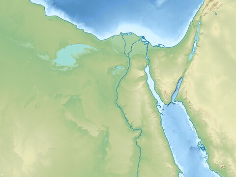 Egypt, the Sinai peninsular and the Red Sea. – Slide 2