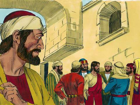 From that time on, Judas watched for an opportunity to betray Jesus to them. – Slide 13