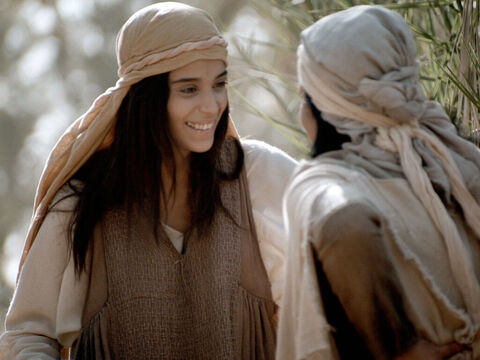 Mary continued to praise God in song. Luke 1 v 46-55 – Slide 8