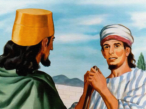To Naboth, this land was something to be guarded with care because God had given it to his family as their inheritance. – Slide 8