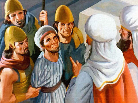 Of course when Naboth was put on trial he tried to tell the people he was a God-fearing man and that he would never talk against God or the king. – Slide 23