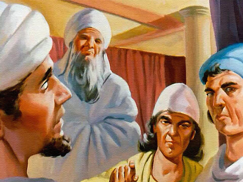 But the two false witnesses swore that Naboth was guilty and the people believed them. – Slide 24